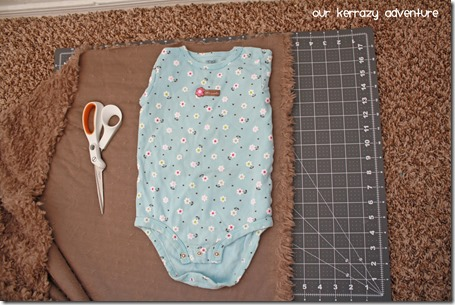 Baby Ewok Costume instructions Sewing Tutorial