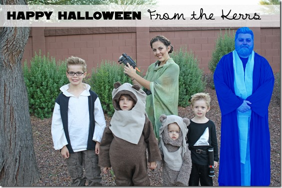 Family Halloween Costumes Star Wars Our Kerrazy Adventure