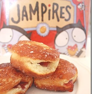 Homemade Jelly Donuts & Jampire  Book Review