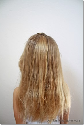 Little Girl Hair Style Tutorial