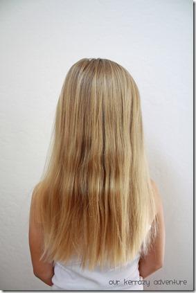 Rey Hair Style for LIttle Girls Before Shot