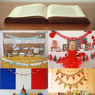 Book themed Party Ideas