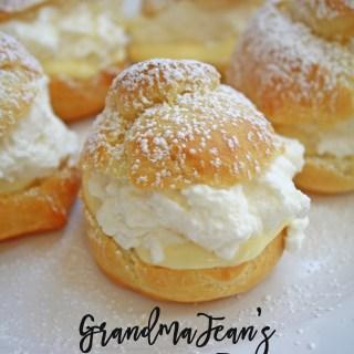 Grandma Jeans Famous CreamPuff Recipe