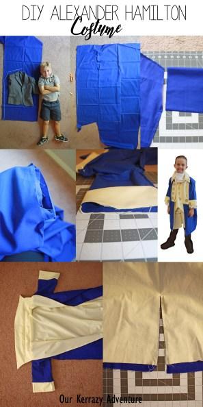Diy Alexander Hamilton Costume Our Kerrazy Adventure