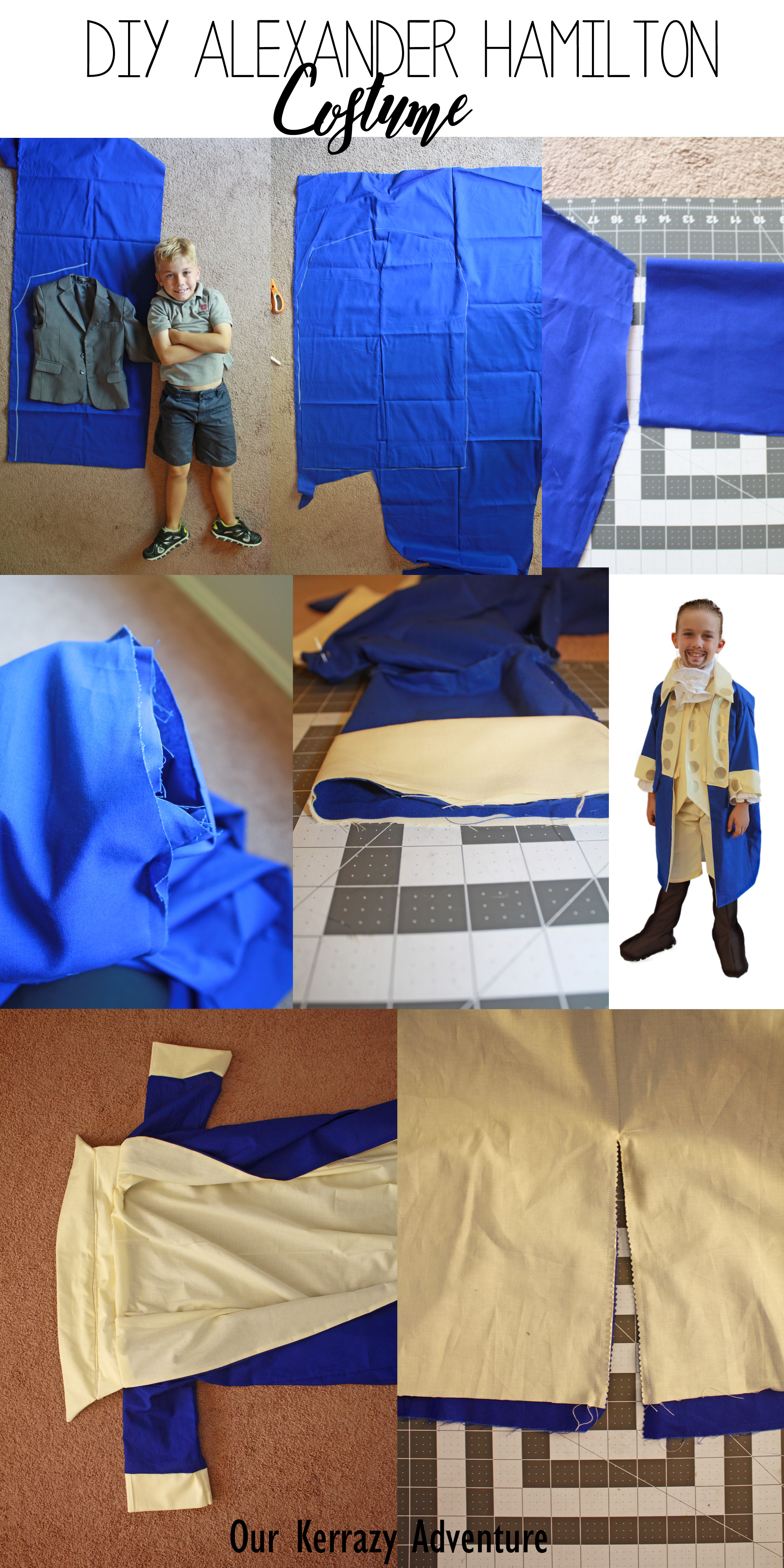 Diy alexander hamilton costume our kerrazy adventure instructions for an alexander hamilton costume childrens costume solutioingenieria Image collections