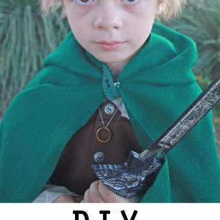 DIY Frodo Costume Tutorial