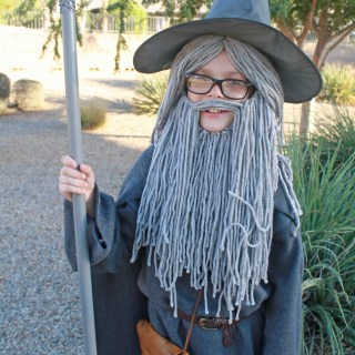 DIY Gandalf Costume Tutorial