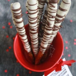 Zebra Pretzels and Free Valentine's Day Printable