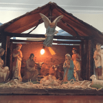 Christmas decorations at OLC