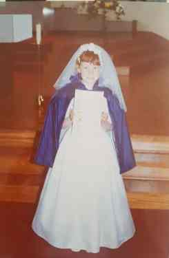 Danielle Houston communion 1998 1