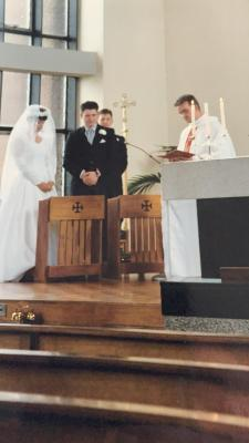 Michael Goldie Wedding 1994