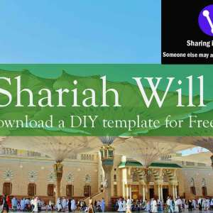 Free Shariah Will Template Download