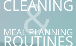 My Cleaning & Meal Planning Routines.