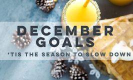 November Update & December Goals.