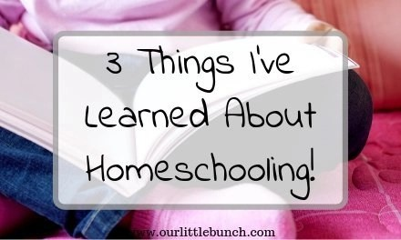 3 Things You Need to Know Before Homeschooling