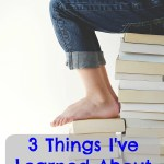 3 Things I've Learned About Homeschooling!