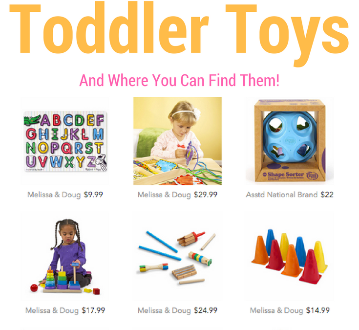 Educational Toys to Entertain Your Toddler