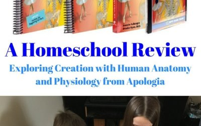Exploring Creation with Human Anatomy and Physiology from Apologia – Homeschool Review