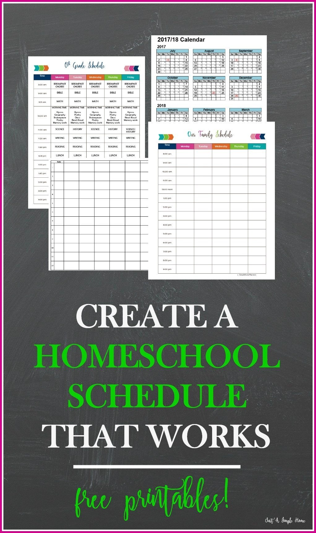 get these 7 homeschool planners you can print for free