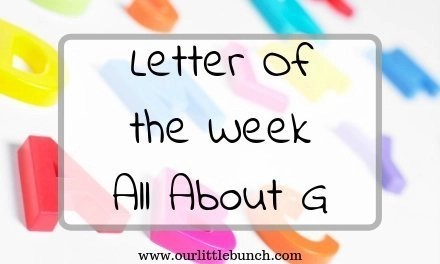 "Letter of the Week – All About ""G"""