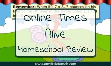 Online Times Alive – Homeschool Review