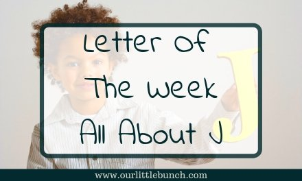 Letter Of The Week – All About the letter J