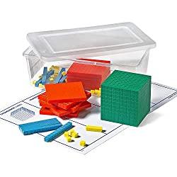 base ten blocks - math manipulative for homeschoolers