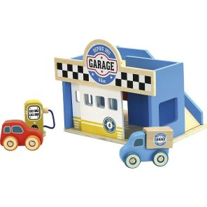 vilac lille garage tankstation our little toyshop