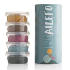 Ailefo Modellervoks stort rør 5 farver økologisk our little toyshop