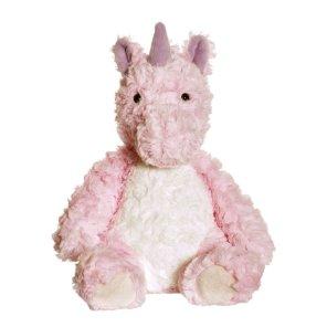 teddykompaniet our little toyshop enhjørning bamse lyserød pink