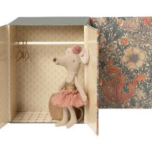 Maileg danserum med støresøster mus our little toyshop