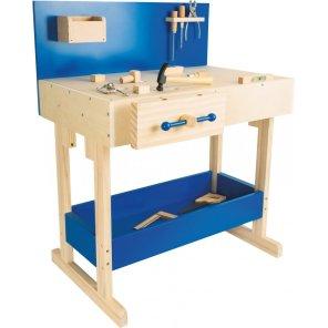 arbejdsbord arbejdsbænk værktøjsbænk værktøjsbord small foot nordic our Little toyshop