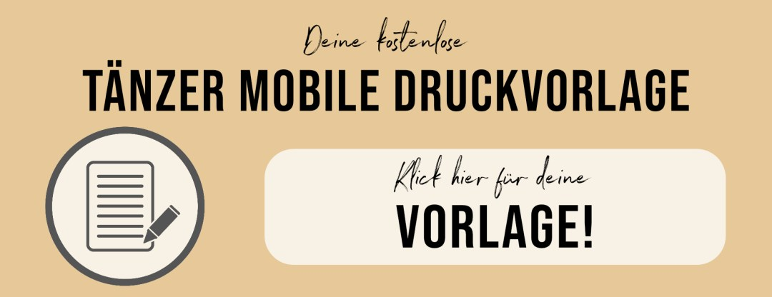 Druckvorlage Montessori Taenzer Mobile Download Grafik Ourmontessoriway