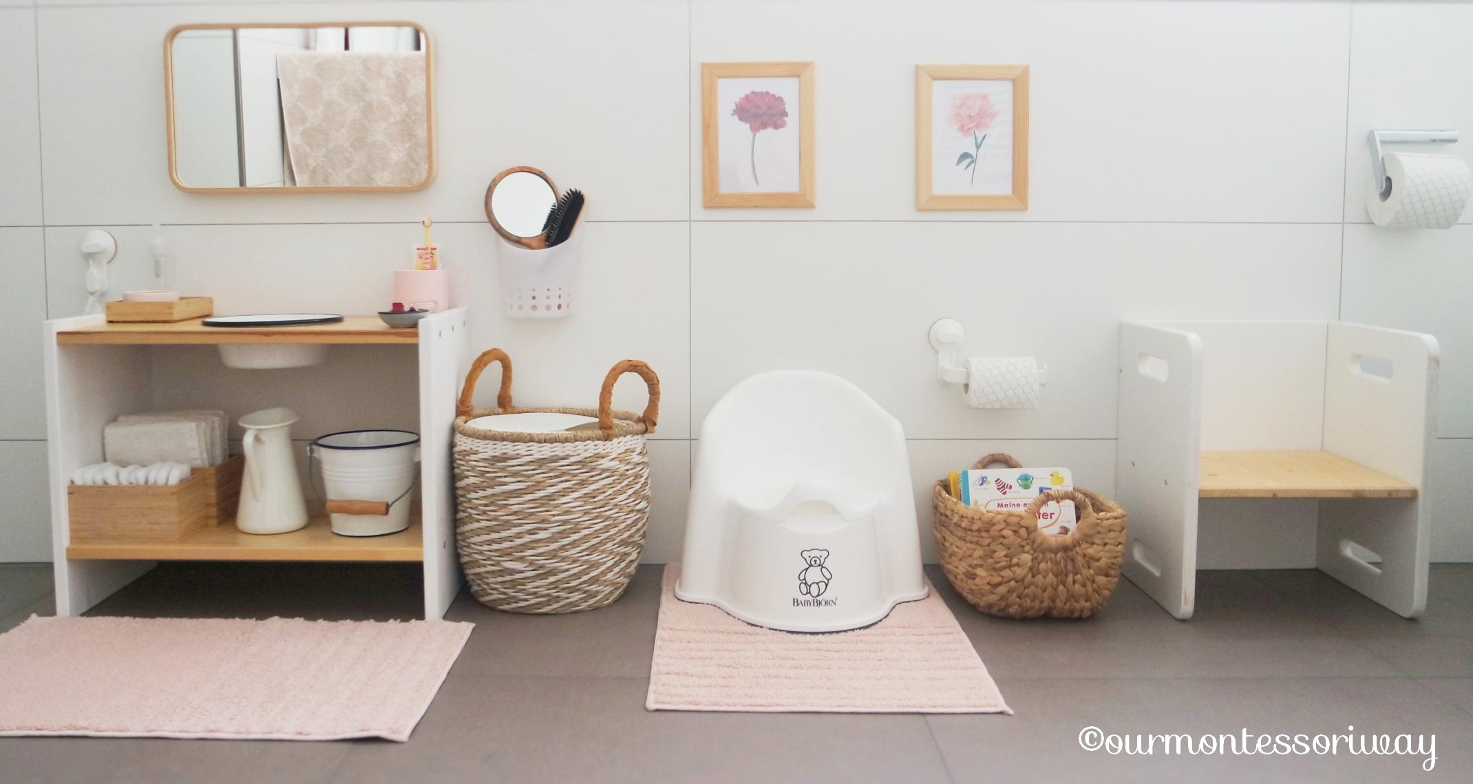 Cosimas Bereich im Badezimmer mit 122 Monaten (Teil 12): Unser