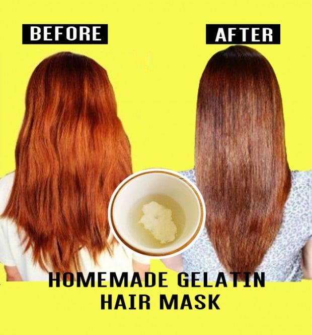 Gelatin Hair Mask