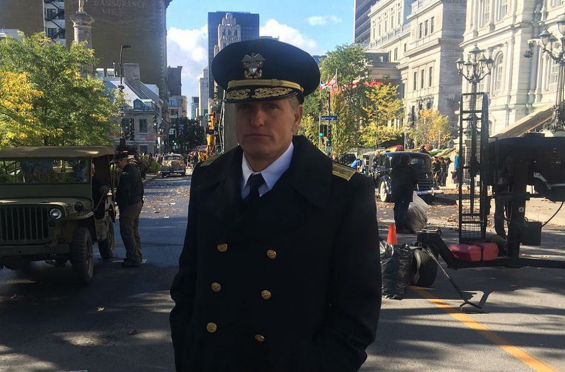 Woody Harrelson Back In Montreal Shooting Second World War Movie Midway Our MUHC