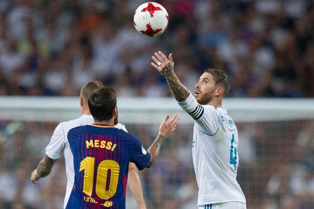 what lionel messi said to sergio ramos