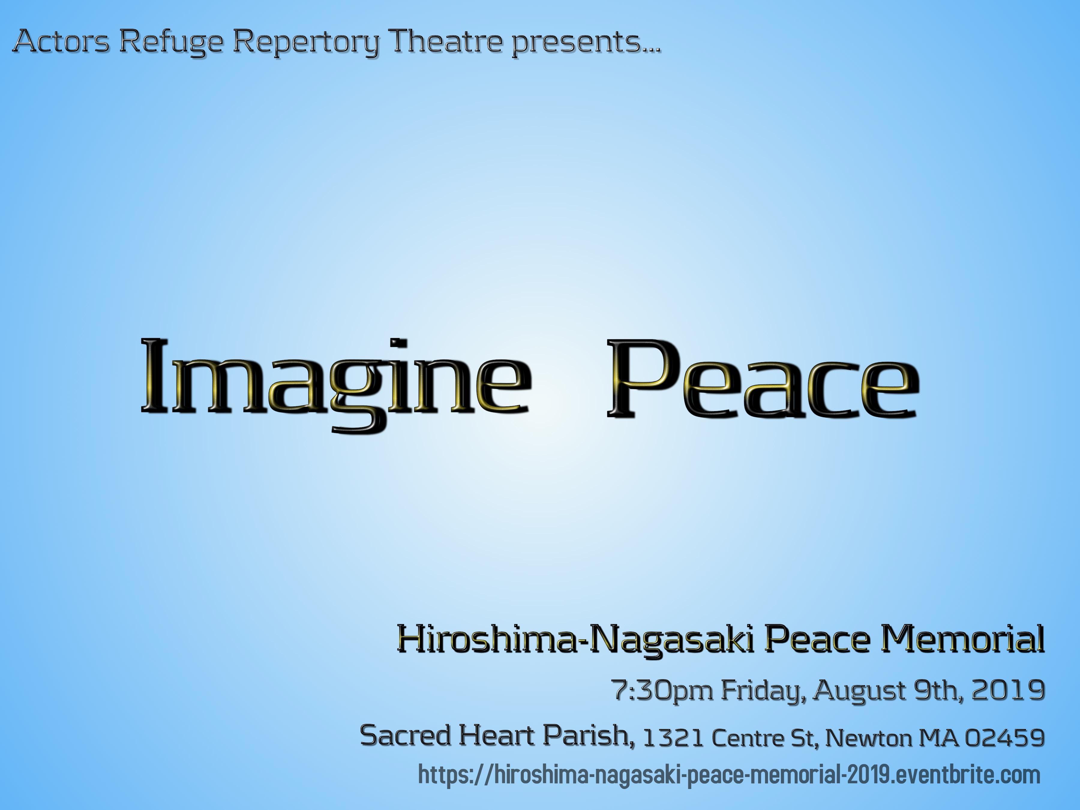 Hiroshima-Nagasaki Peace Memorial 2019 - Ournewton org