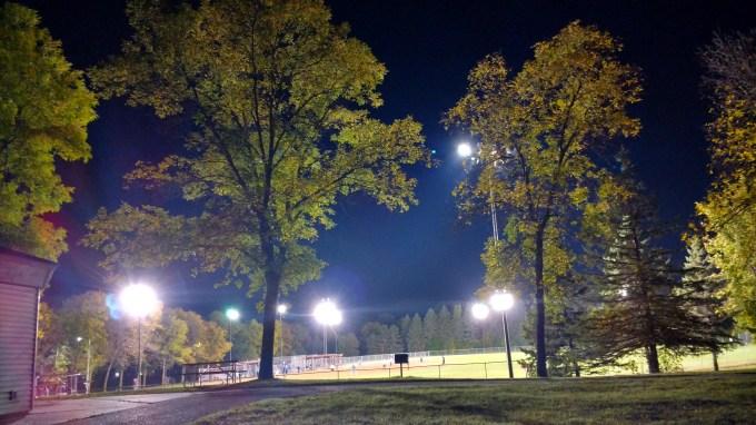 Baseball in Hoffman Park