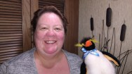 Crazy Penguin Lady!