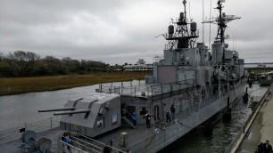 USS Laffey Destroyer, Charleston, South Carolina