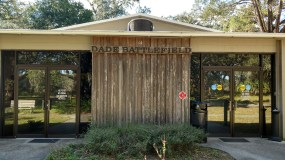 Dade State Park visitor and learning center