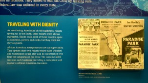We had visited the Silver Springs, Florida, state park in January and this brochure archived the Civil Rights Museum brings a new perspective to that visit.