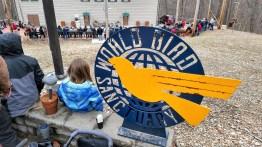 World Bird Sanctuary - Theater with open flight birds