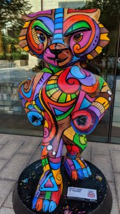 Bucky Badger Artwork - Bucky Come Se Picasso