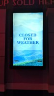 """Much of Dollywood was """"closed for weather"""" the night we were there, when it was about 27 degrees when we went home at 8pm"""
