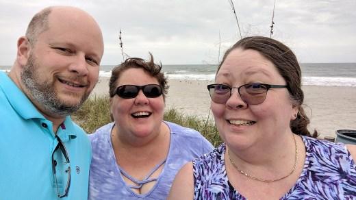 Jason, Barb and Deina - Cocoa Beach, FL