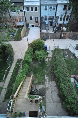 Backyard aerial may 2011