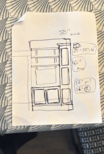 entertainment center sketches 2