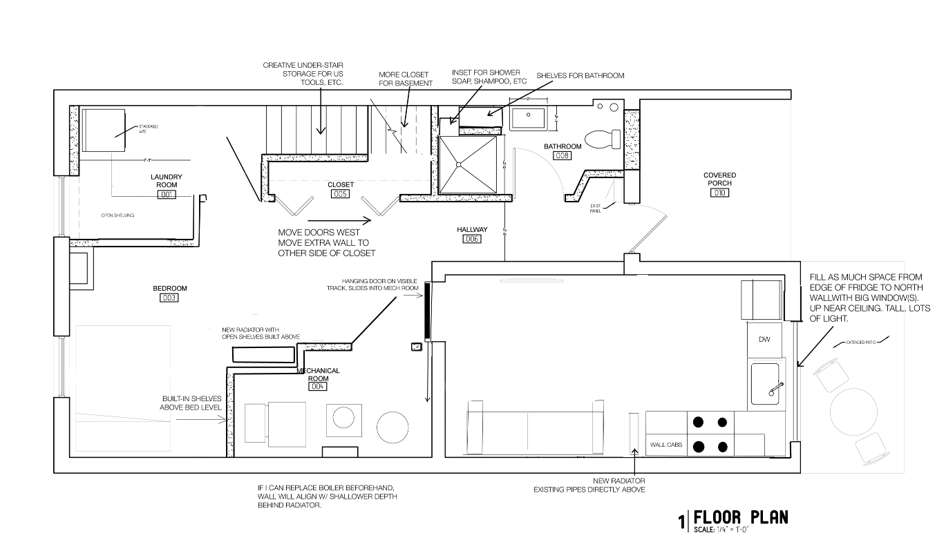 Getting started on the basement renovation making plans for Basement floor plans with stairs in middle